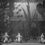 Принцессы Нинетта, Линетта, Николетта. Сцена из 3-й картины III действия. ГАТОБ, 1926 год. Фото - Мариинский театр