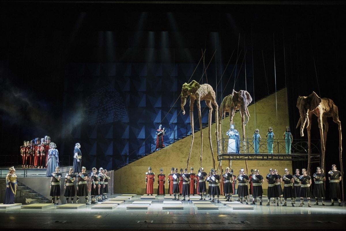 «Аида» Джузеппе Верди — одна из самых масштабных постановок Новосибирского театра оперы и балета