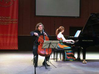 Феликс Коробов (виолончель), Варвара Непомнящая (фортепиано)
