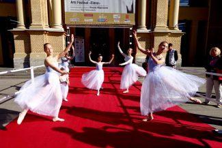 Ученицы Балетной школы Илзе Лиепа