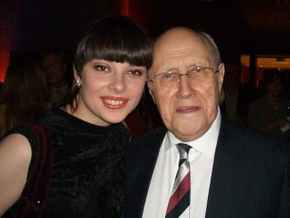 Екатерина Мечетина и Мстислав Ростропович