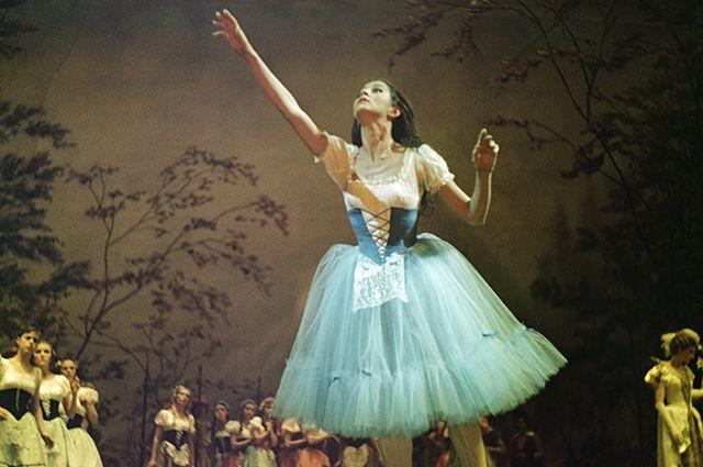 Наталия Бессмертнова в роли Жизели. 1966 г