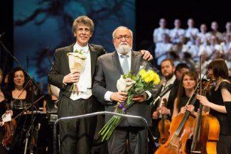 Ян Латам-Кениг и Кшиштоф Пендерецкий. Фото - Даниил Кочетков