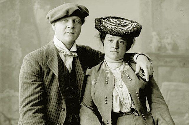 Федор Шаляпин и Иола Торнаги. 1890 – 1900 годы