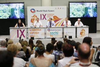 В Сочи продолжается второй этап 9-х Всемирных хоровых игр