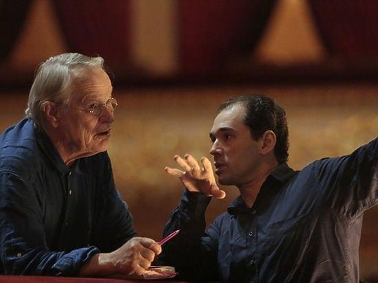 Петер Штайн и Туган Сохиев. Фото - Дамир Юсупов