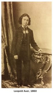 Леопольд Ауэр, 1860 год