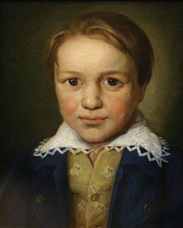 Портрет 13-летнего Бетховена неизвестного художника, ок. 1783 года