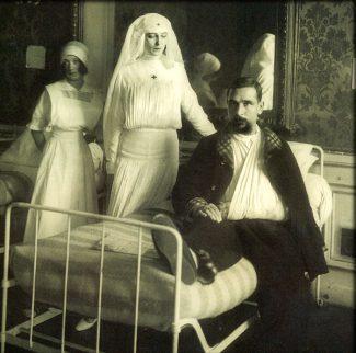 Ида Рубинштейн - сестра милосердия
