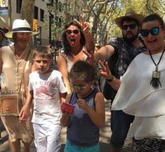 Анна Нетребко и Юсиф Эйвазов на отдыхе в Барселоне