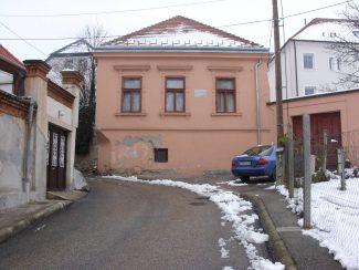 Дом в Веспреме, где родился Л. С. Ауэр