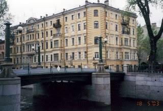 Дом №7 на Крюковом канале, где Ауэр жил с 1896 по 1900 гг.