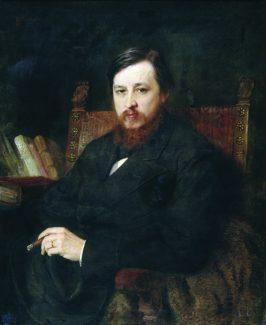 К. Маковский. Портрет композитора М. П. Азанчевского. 1877 г.