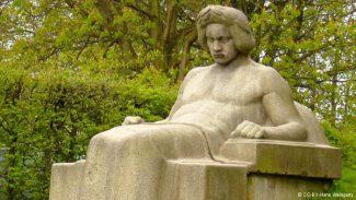 Бетховен работы скульптора Кристиана Бройера