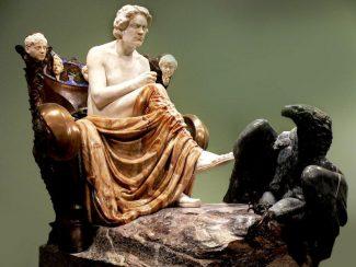 Памятник Бетховену работы скульптора Макса Клингера