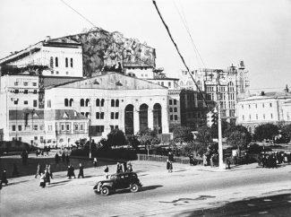 Маскировка Большого в годы Второй мировой войны