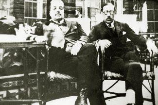 Сергей Дягилев и Игорь Стравинский, 1921 год