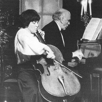 Наталия Гутман и Святослав Рихтер