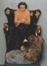 Модель памятника Бетховену работы скульптора Макса Клингера, 1885/86