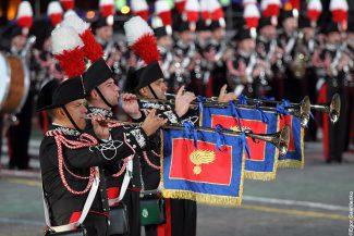 Итальянский оркестр корпуса карабинеров. Фото: Егор Гавриленко