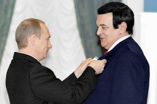 Муслим Магомаев удостоен Ордена Почёта. Фото - РИА Новости / Владимир Родионов