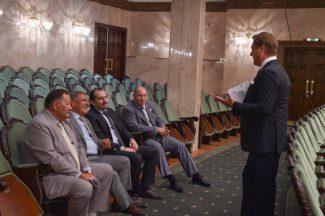 Рустам Минниханов побывал на репетиции Государственного симфонического оркестра РТ