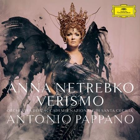 Обложка диска Анны Нетребко «Verismo»