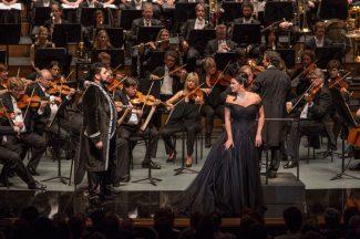 Анна Нетребко в «Манон Леско». Фото - Marco Borrelli/Salzburger Festspiele