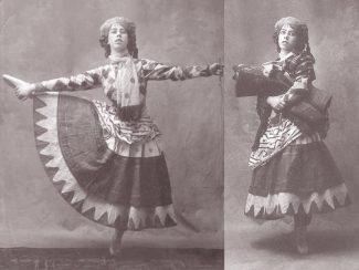 Бронислава Нижинская в роли Уличной танцовщицы в балете «Петрушка»