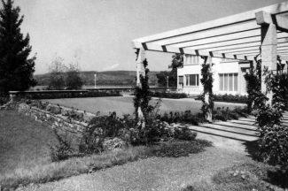 Вид на виллу Сенар, середина 1930-х гг.