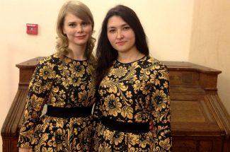 Любовь Старцева и Виолетта Михайлова