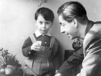 С сыном Кареном. Фото: из архива