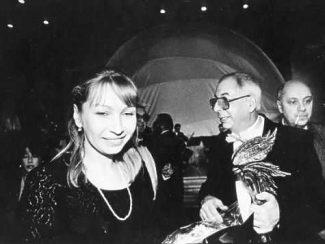 Микаэл Таривердиев и его Вера. Фото: из архива