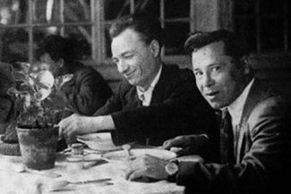 Н. Жиганов и М. Джалиль, 1940 год