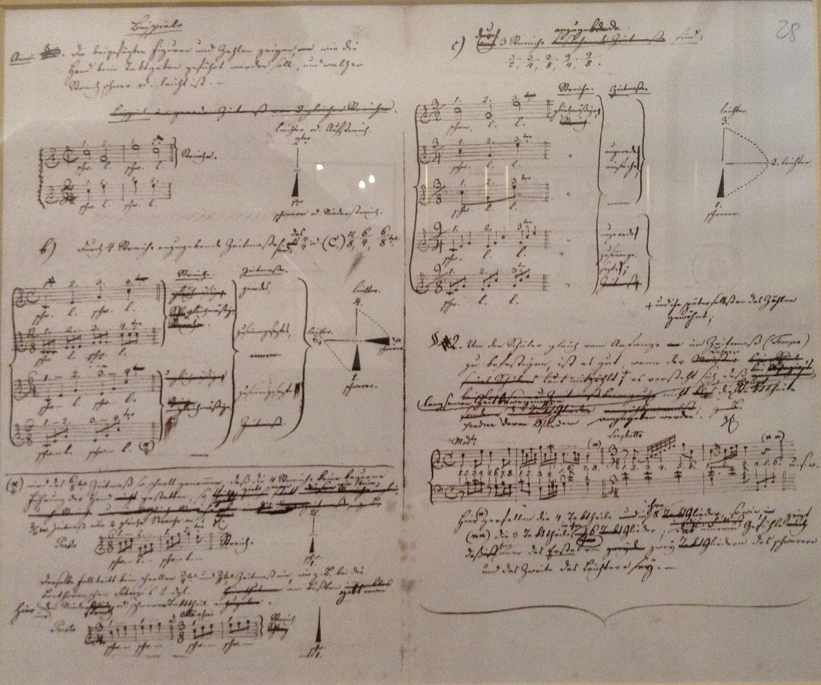 Автограф Иоганна Гуммеля