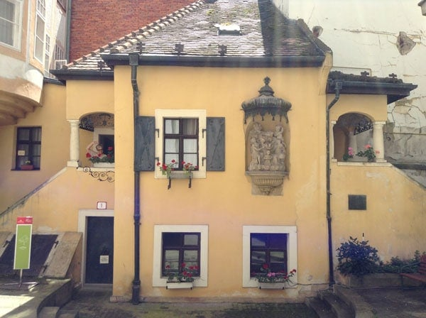 Дом-музей Иоганна Непомука Гуммеля в Братиславе