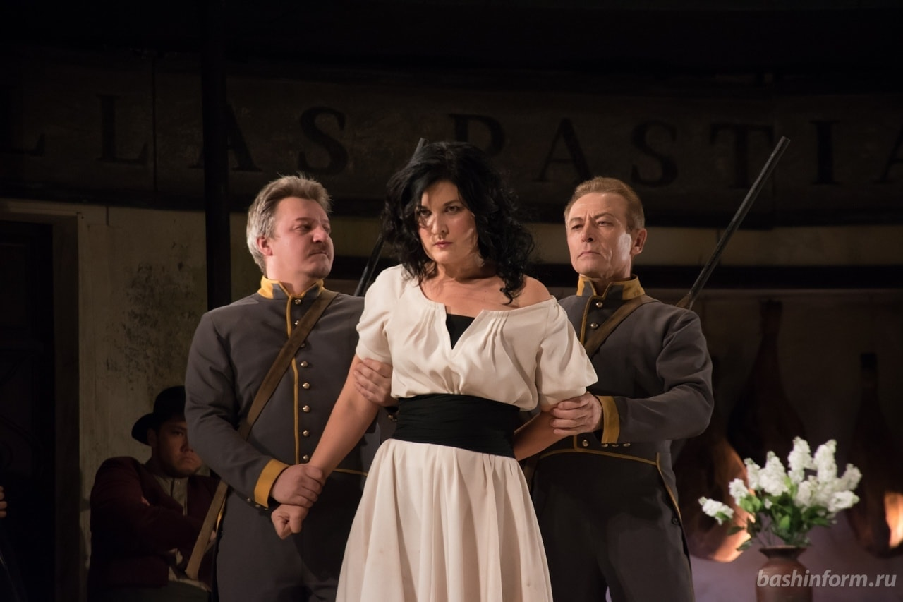 Фестиваль «Шаляпинские вечера в Уфе» открылся премьерой оперы «Кармен». Фото: Георгий Шишкин
