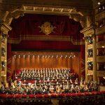 Оркестр и хор театра Ла Скала. Фото: Brescia e Amisano/Teatro alla Scala
