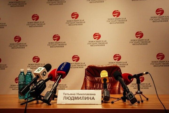 Гендиректор Новосибирской филармонии Татьяна Людмилина прокомментировала ситуацию со своим увольнением