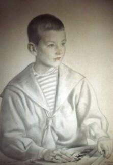 Портрет Мити Шостаковича работы Б. Кустодиева.