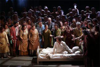 Анна Нетребко в опере «Жанна д'Арк». Ла Скала, 7 декабря 2015. Фото - Brescia Armisano/L'ape musicale
