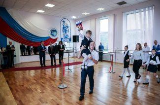 Филиал академии русского балета имени Вагановой открылся в Приморье 1 сентября 2016 года