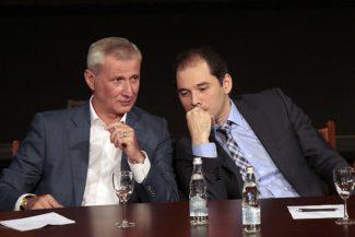 Махар Вазиев и Туган Сохиев. Фото -Дамир Юсупов