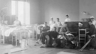 Концерты в военном госпитале