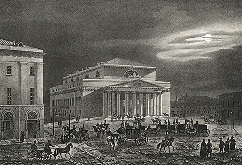 Огюст-Антуан Кадоль. Императорский Большой театр в Москве