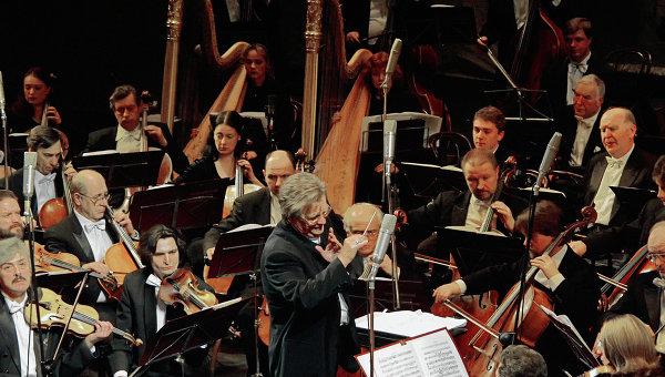 Большой симфонический оркестр отправился в турне по Великобритании