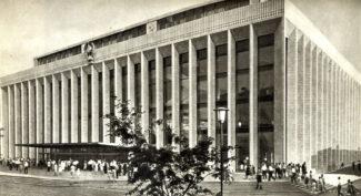 Государственный Кремлевский дворец - Дворец съездов, 70-е годы