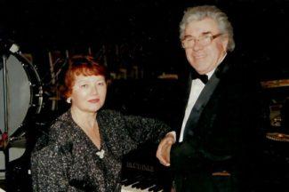 Валерий Фёдоров с женой