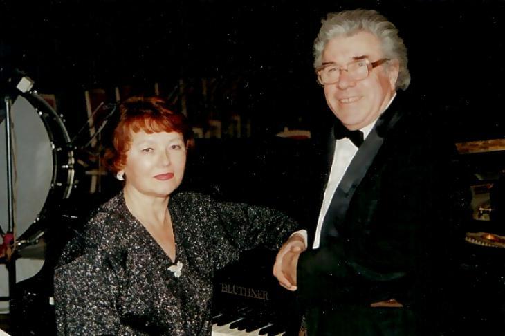 Валерий Фёдоров с женой. Фото - Юрий Кабанов