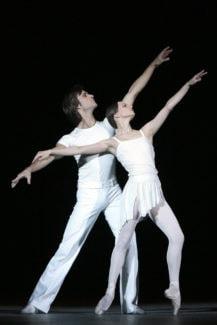 Рита - Нина Капцова, Борис - Руслан Скворцов. Фото - Дамир Юсупов